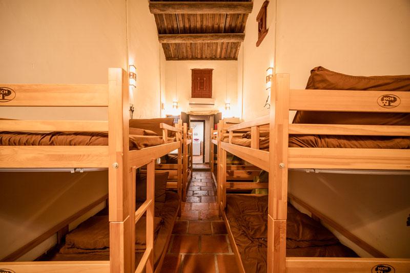 北山古洋樓-團體-混合-女性-八人宿舍床位房